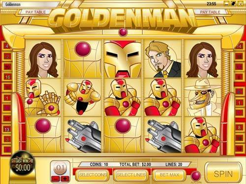 Goldenman free slot