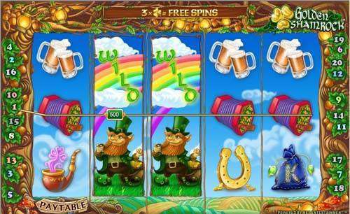 Golden Shamrock casino slot