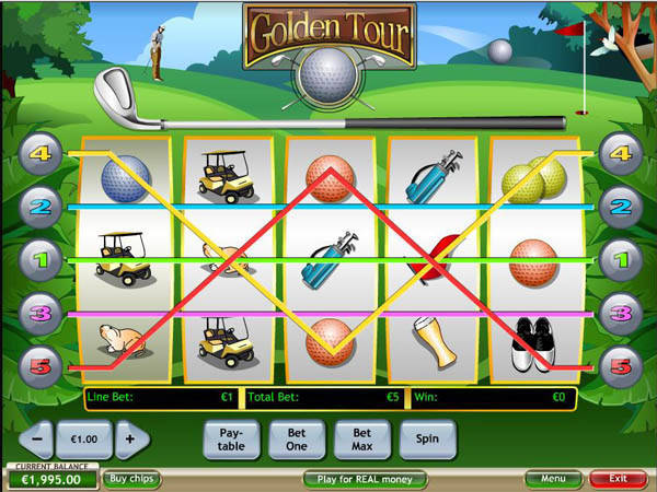 Golden Tour free slot