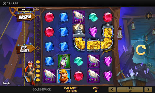 Goldstruck free slot