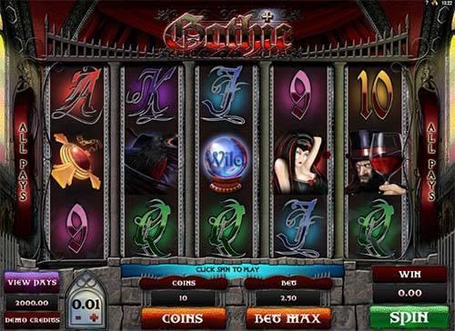 Gothic free slot