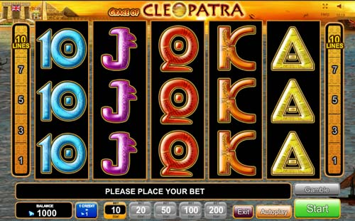Grace of Cleopatra free slot