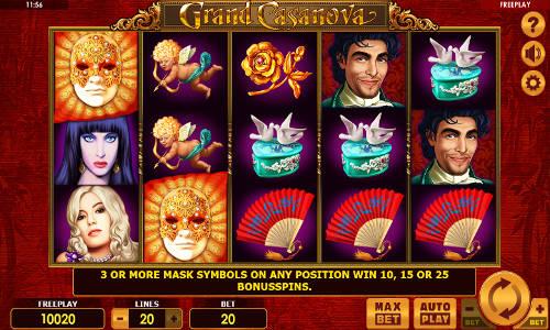 Grand Casanova free slot