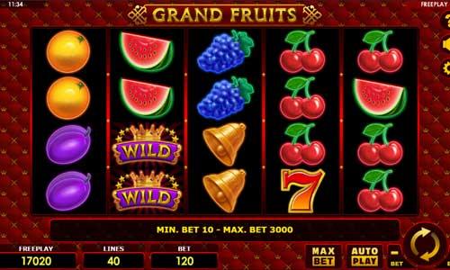 Grand Fruits free slot