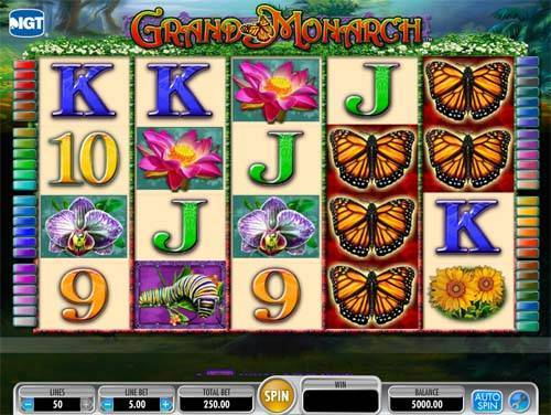 Grand Monarch free slot