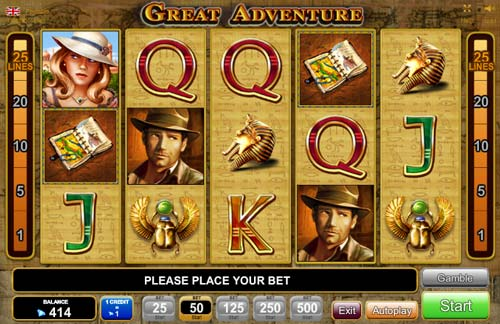 Great Adventure free slot