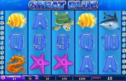 Great Blue free slot