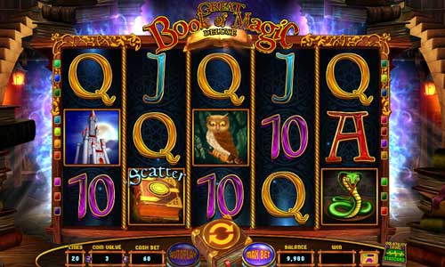 Great Book of Magic Deluxe free slot