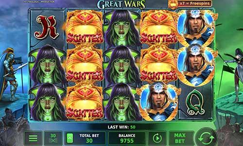 Great Wars free slot