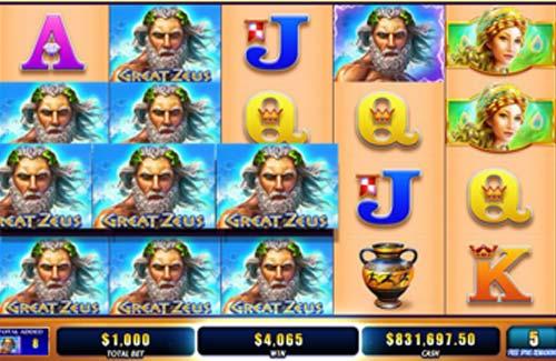 Great Zeus free slot