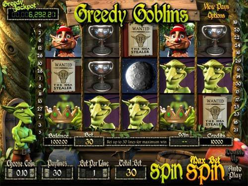 Greedy Goblinssticky wilds slot