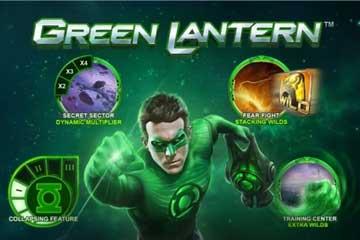 Green Lantern slot Playtech