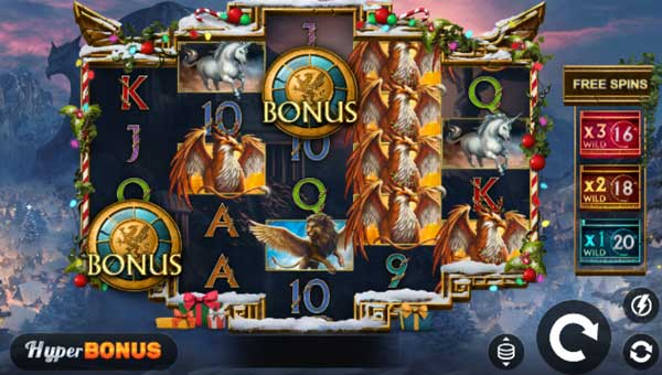 Griffins Quest Xmasbuy feature slot