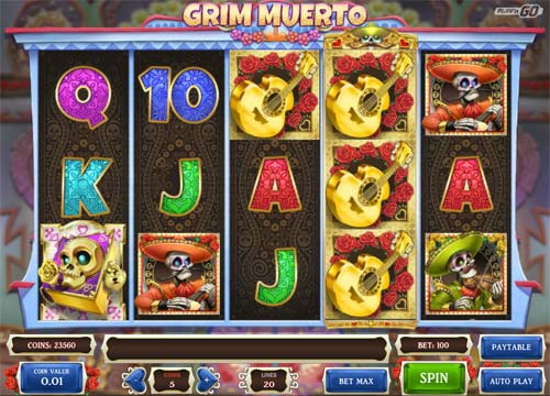 Grim Muerto free slot