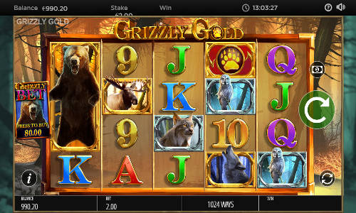 Grizzly Gold free slot