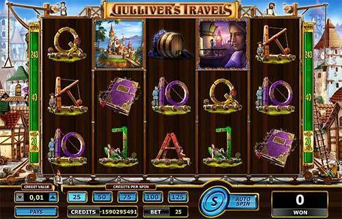 Gullivers Travels free slot