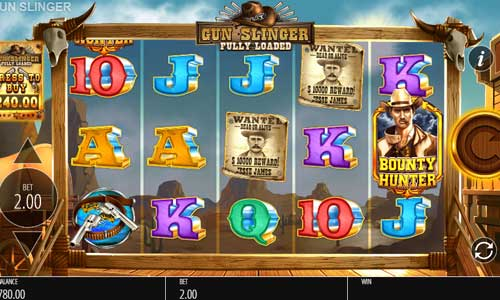 Gunslinger Fully Loaded free slot