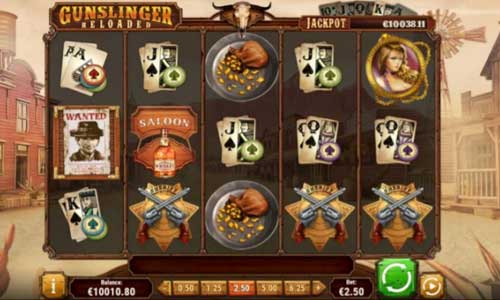 Gunslinger Reloaded free slot