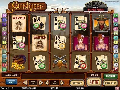 Gunslinger free slot