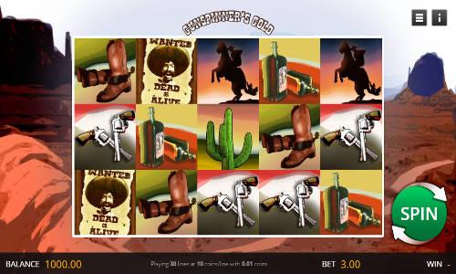 Gunspinners Gold casino slot
