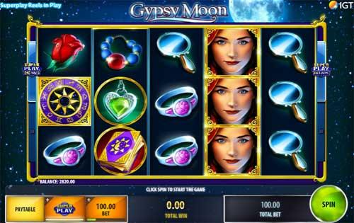 Gypsy Moon free slot
