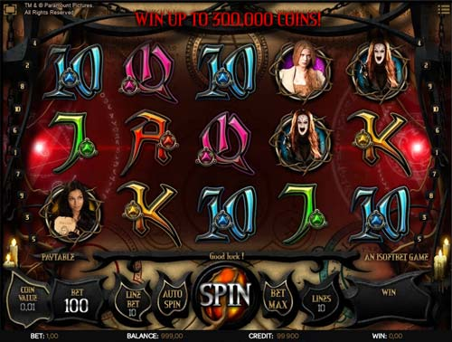 Hansel and Gretel Witch Hunters free slot