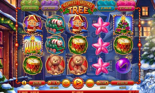 Happiest Christmas Tree free slot