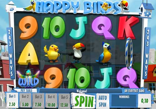 Happy Birds free slot