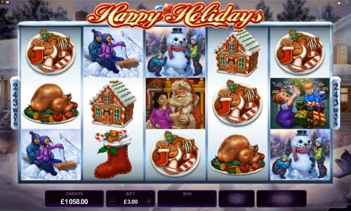 Happy Holidays free slot