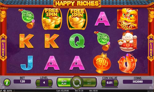 Happy Riches free slot