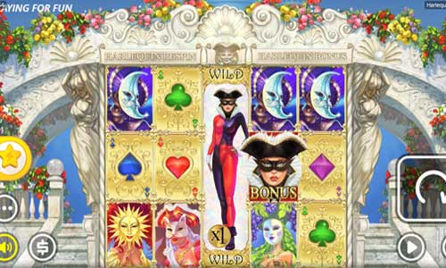 Harlequin Carnival free slot