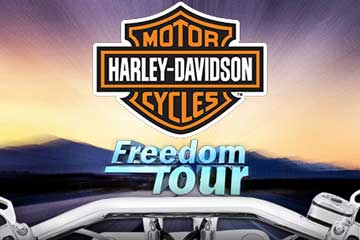 Harley Davidson Freedom Tour casino slot