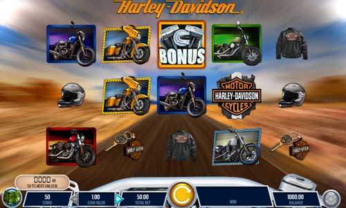 Harley Davidson Freedom Tour free slot