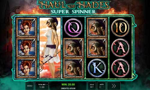 Haul of Hades Super Spinner free slot