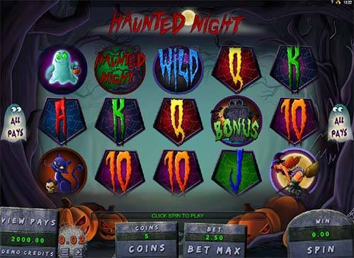 Haunted Night free slot