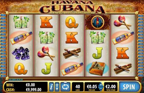 Havana Cubana free slot