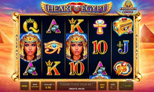 Heart of Egypt free slot