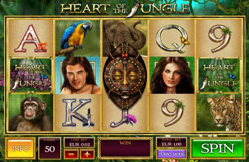 Heart of the Jungle free slot