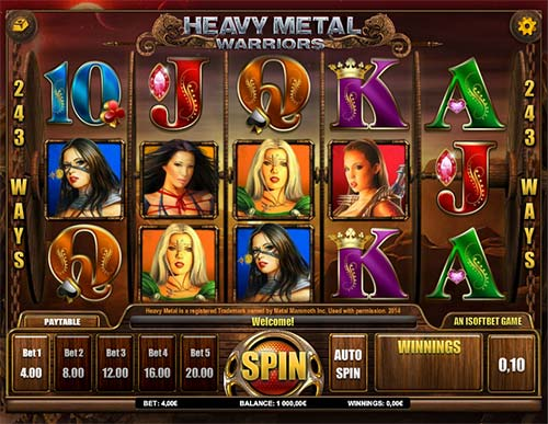 Heavy Metal Warriors free slot