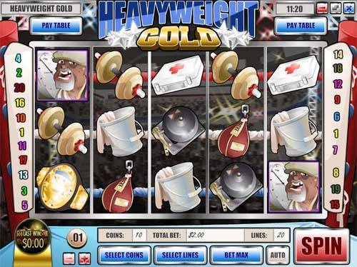 Heavyweight Gold free slot
