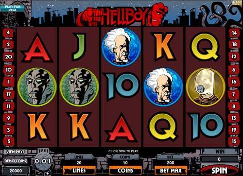 Hellboy casino slot