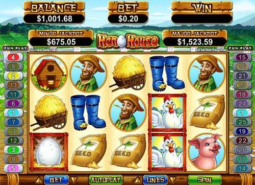 Hen House free slot