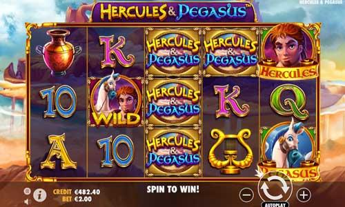Hercules and Pegasus free slot