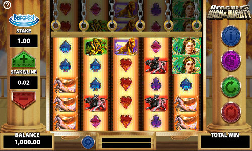 Hercules High and Mighty casino slot