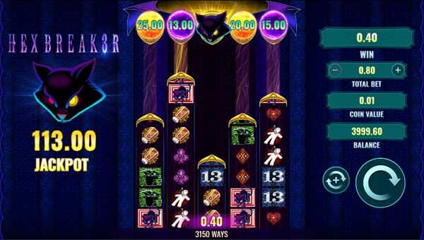 Hexbreaker 3win both ways slot