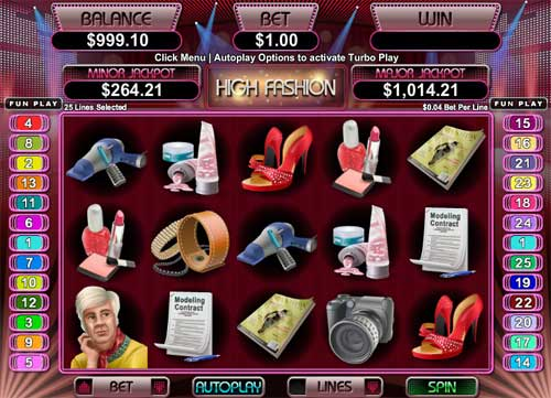 High Fashion free us slot