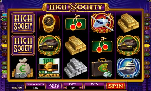 High Society free slot