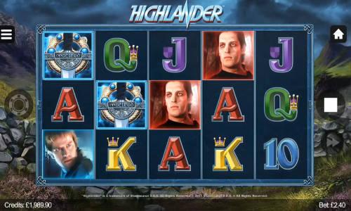 Highlander free slot