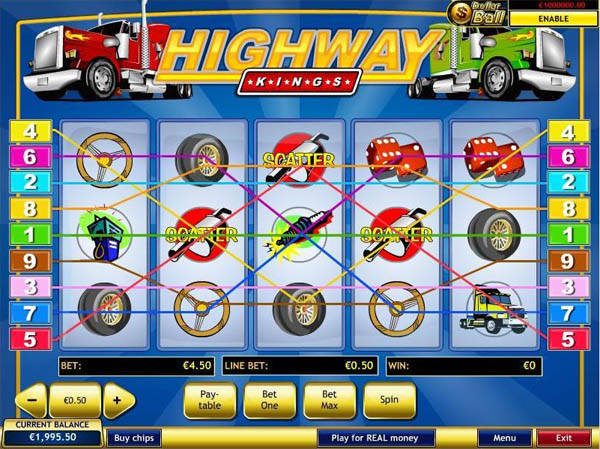 Highway Kings free slot
