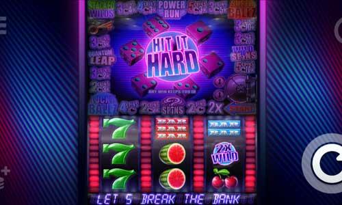 Hit it Hardsticky wilds slot